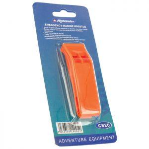 Highlander Emergency Marine Whistle Orange