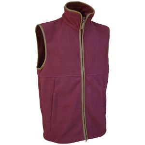 Jack Pyke Countryman Fleece Gilet Burgundy