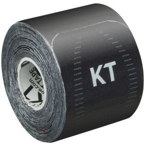 "KT Tape Consumer Synthetic Pro Precut 10"" Jet Black"