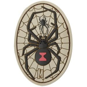 Maxpedition Black Widow (Arid) Morale Patch