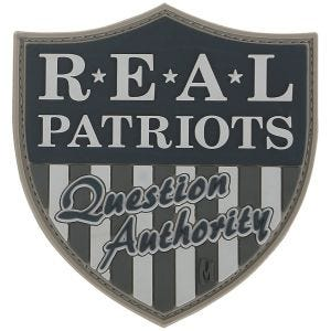 Maxpedition Real Patriots (SWAT) Morale Patch