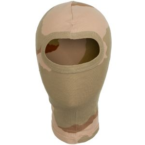 MFH 1 Hole Balaclava Lightweight Cotton 3-Color Desert