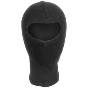 MFH 1 Hole Balaclava Lightweight Cotton Black