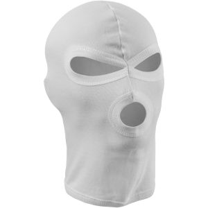 MFH 3 Hole Balaclava Lightweight Cotton White