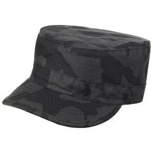 MFH BDU Ripstop Field Cap Night Camo