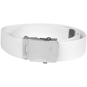Mil-Tec Webbing Belt White