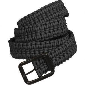 Mil-Tec Paracord Belt Black