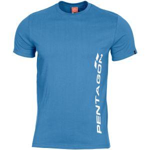 Pentagon Ageron Pentagon Vertical T-Shirt Pacific Blue