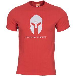 Pentagon Ageron Spartan Helmet T-Shirt Lava Red