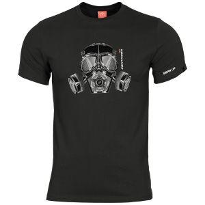 Pentagon Ageron Gas Mask T-Shirt Black