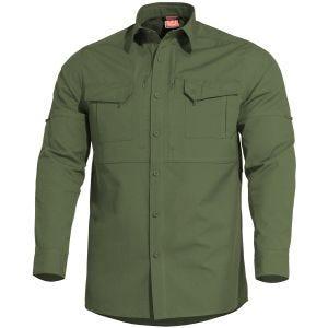 Pentagon Plato Tactical Shirt Camo Green