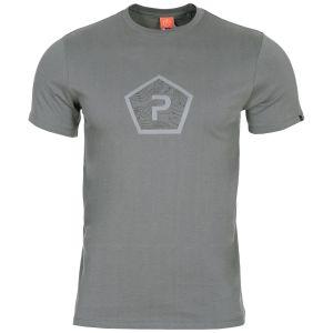 Pentagon Ageron Pentagon Shape T-Shirt Wolf Gray