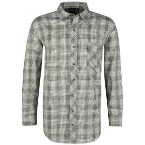 Propper Covert Button-Up Long Sleeve Shirt Loden Green Plaid