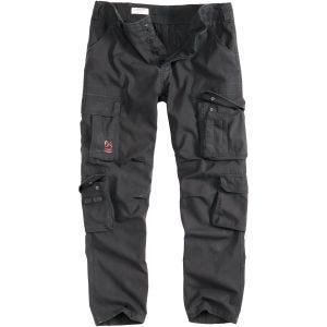 Surplus Airborne Slimmy Trousers Black Washed