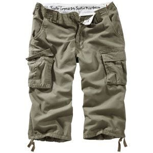 Surplus Trooper Legend 3/4 Shorts Olive Washed