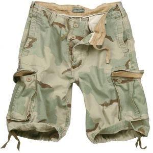 Surplus Vintage Shorts Washed 3-Color Desert