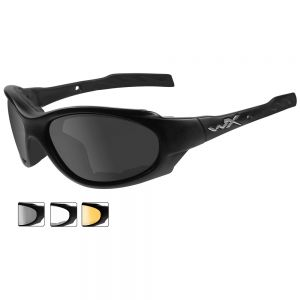 Wiley X XL-1 Advanced - Smoke Gray + Clear + Light Rust Lens / Matte Black