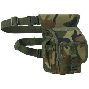 Brandit Side Kick Bag Woodland Camo