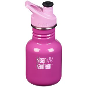 Klean Kanteen Kid Sport 355ml Bottle Sport Cap 3.0 Bubble Gum