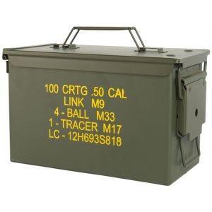 Mil-Tec US Ammo Box M2A1 Cal.50 Olive