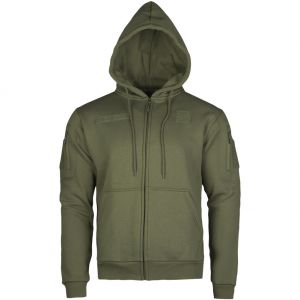 Mil-Tec Tactical Zipped Hoodie Ranger Green