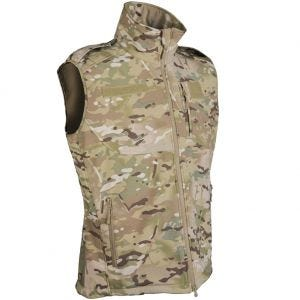 Mil-Tec Soft Shell Vest Multitarn