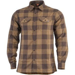 Pentagon Drifter Flannel Shirt Long Sleeve TB Checks