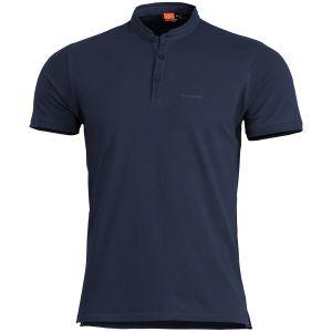 Pentagon Levantes Henley Shirt Navy Blue