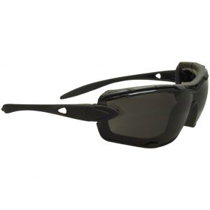 Swiss Eye Detection Sunglasses - Smoke + Clear Lenses / Rubber Black Frame