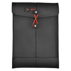 "Civilian Manila 11 Leather Sleeve for MacBook Air 11"" / Netbook Black"