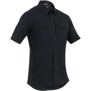 First Tactical Men's Tactix Short Sleeve BDU Shirt Black