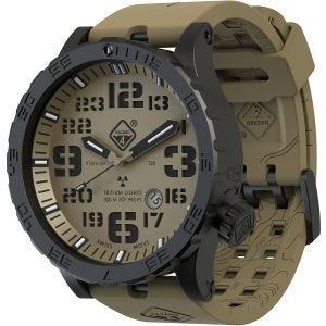 Hazard 4 Heavy Water Diver Titanium Tritium Watch Arid Green/Yellow