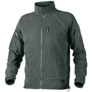 Helikon Alpha Tactical Grid Fleece Jacket Shadow Grey
