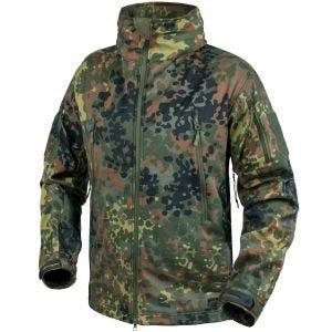 Helikon Gunfighter Soft Shell Jacket Flecktarn