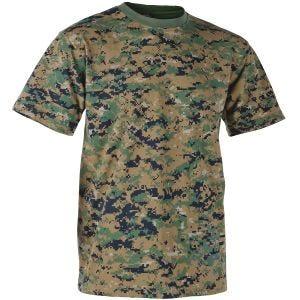 Helikon T-shirt USMC Digital Woodland