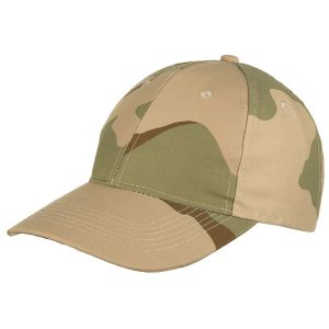 MFH Baseball Cap 3-Color Desert