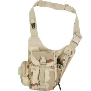MFH Combat Shoulder Bag 3-Color Desert