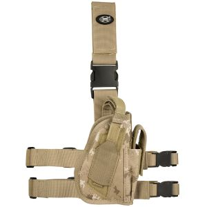 MFH Right Leg Holster Vegetato Desert