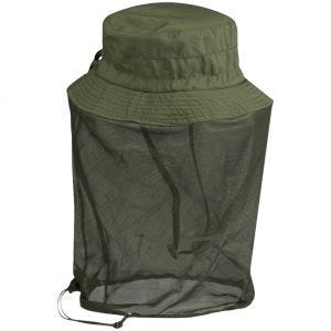 Mil-Tec Boonie Hat with Mosquito Net Olive