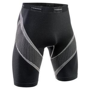 Tervel Optiline Running Shorts Black/Light Grey